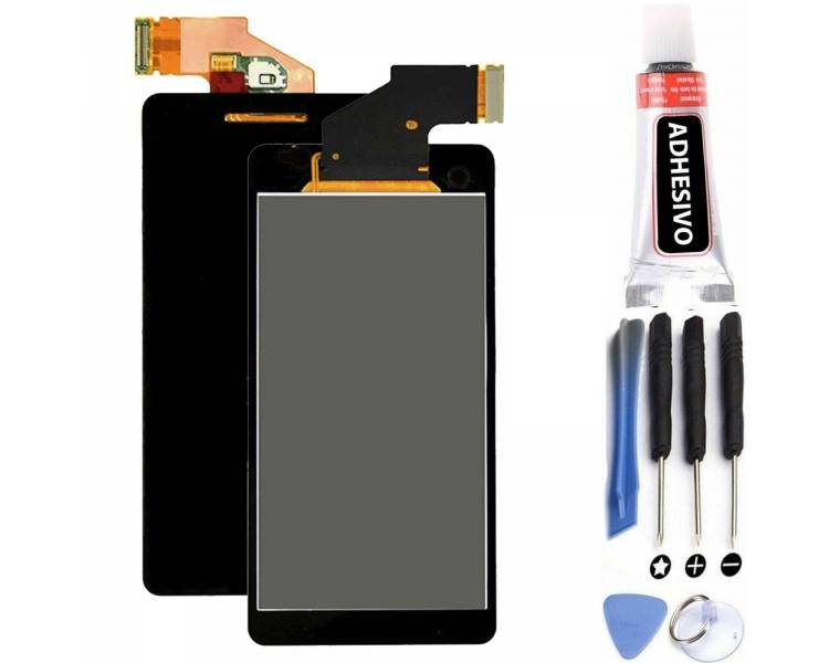 Display For Sony Xperia V, Color Black ARREGLATELO - 1