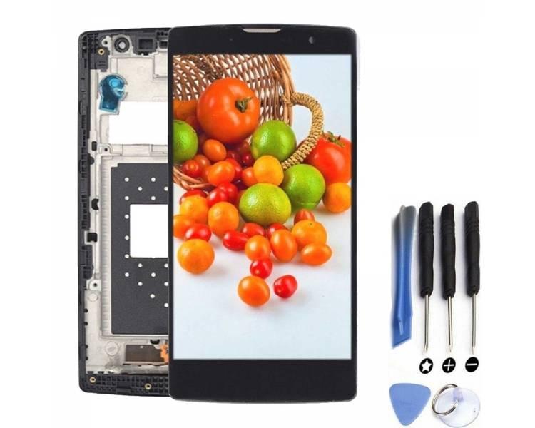 Volledig scherm met frame voor LG G4C H525N H525 Zwart Zwart FIX IT - 1