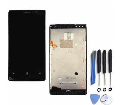 Display For Nokia Lumia 920, Color Black ARREGLATELO - 1
