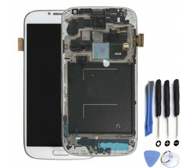 Volledig scherm met frame voor Samsung Galaxy S4 SIV i9506 Wit - AMOLED FIX IT - 1
