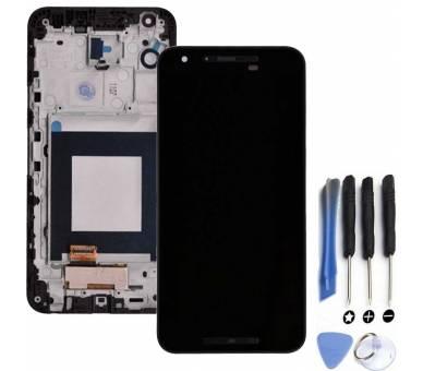 Volledig scherm met frame voor LG NEXUS 5X Zwart Zwart FIX IT - 1