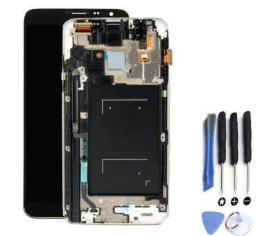 Display For Samsung Galaxy Note 3, Color Grey, With Frame, TFT ARREGLATELO - 1
