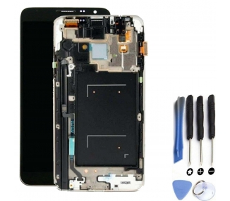 Display For Samsung Galaxy Note 3, Color Grey, With Frame, TFT