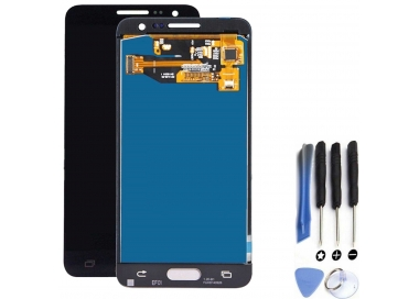 Pantalla Completa para Samsung Galaxy A3 A300F Negro ARREGLATELO - 1