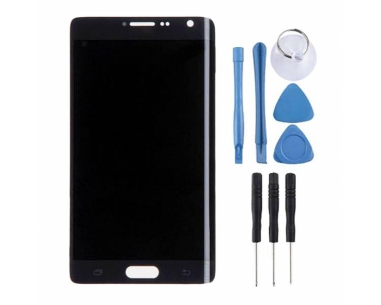 Oryginalny pełny ekran do Samsung Galaxy Note 4 Edge Grey