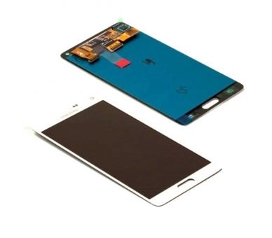 Display For Samsung Galaxy Note 4, Color White, Original Amoled Samsung - 1