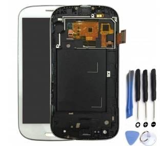 Pełny ekran z ramką do Samsung S3 Neo i9301 i9308 Biały Biały