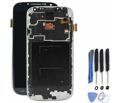 Volledig scherm met frame voor Samsung Galaxy S4 i9506 Zwart Zwart FIX IT - 1