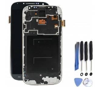 Pełny ekran z ramką do telefonu Samsung Galaxy S4 i9506 Czarny Czarny