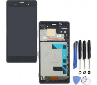 Volledig scherm voor Sony Xperia Z3 D6603 D6643 D6653 Zwart Zwart FIX IT - 1