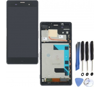 Pantalla Completa para Sony Xperia Z3 D6603 D6643 D6653 Negro Negra ARREGLATELO - 1