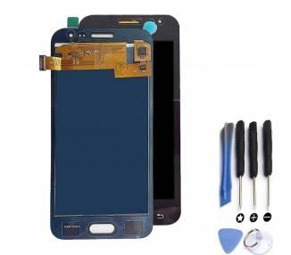 Pełny ekran do Samsung Galaxy J2 J200 J200F Czarny Czarny