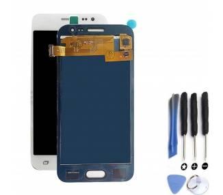Pełny ekran do Samsung Galaxy J2 J200 J200F Biały Biały