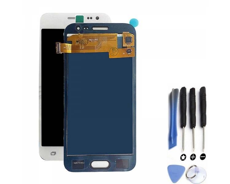 Pantalla Completa para Samsung Galaxy J2 J200 J200F Blanco Blanca ARREGLATELO - 1