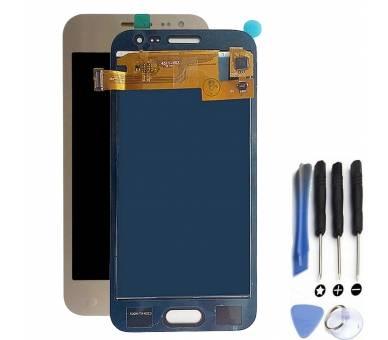 Pełny ekran dla Samsung Galaxy J2 J200 J200F Gold Gold Gold ARREGLATELO - 1
