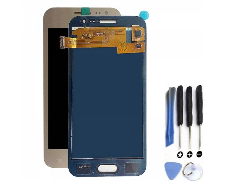 Display For Samsung Galaxy J2, Color Gold, TFT ARREGLATELO - 1