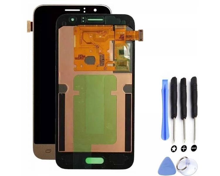 Volledig scherm voor Samsung Galaxy J1 J120 J120F Goud Goud Goud FIX IT - 1