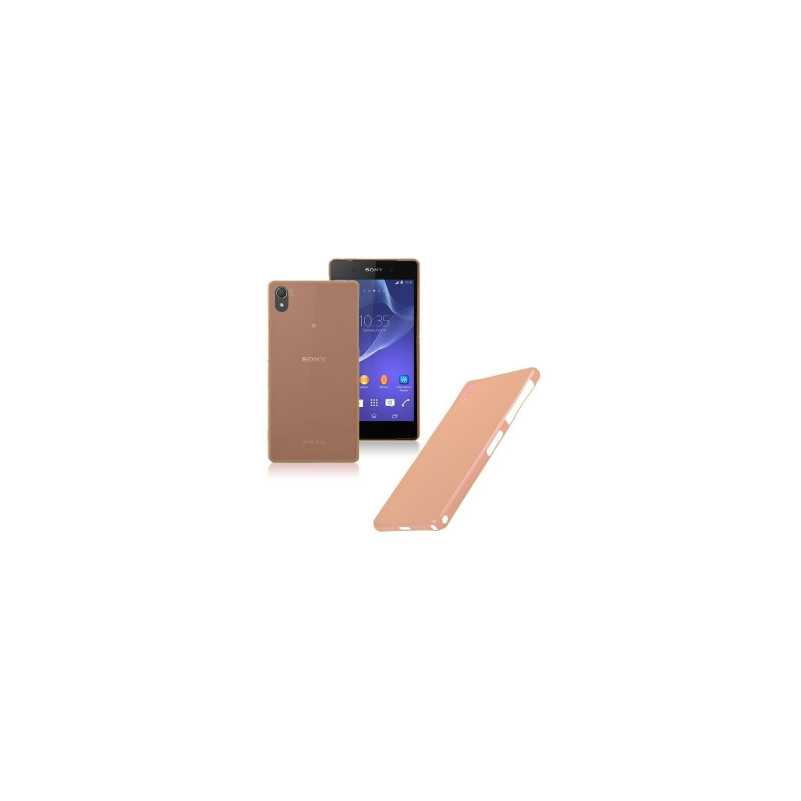 Funda Carcasa TPU ultrafina para Sony Ericsson Xperia Z2 Color Naranja ARREGLATELO - 1