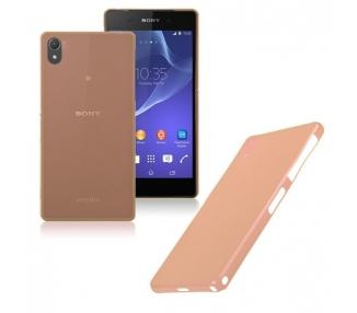 Funda Carcasa TPU ultrafina para Sony Ericsson Xperia Z2 Color Naranja