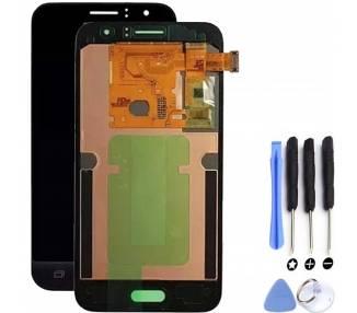 Pantalla Completa para Samsung Galaxy J1 J120 J120F Negro Negra ARREGLATELO - 1