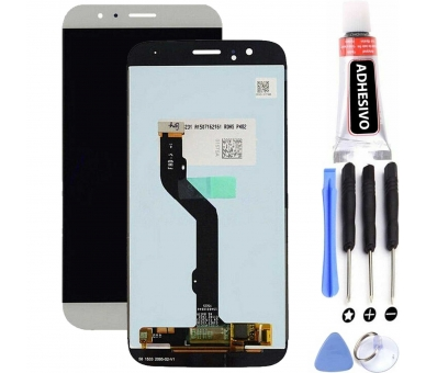 Pełny ekran dla Huawei Ascend G8 i GX8 White White ARREGLATELO - 1