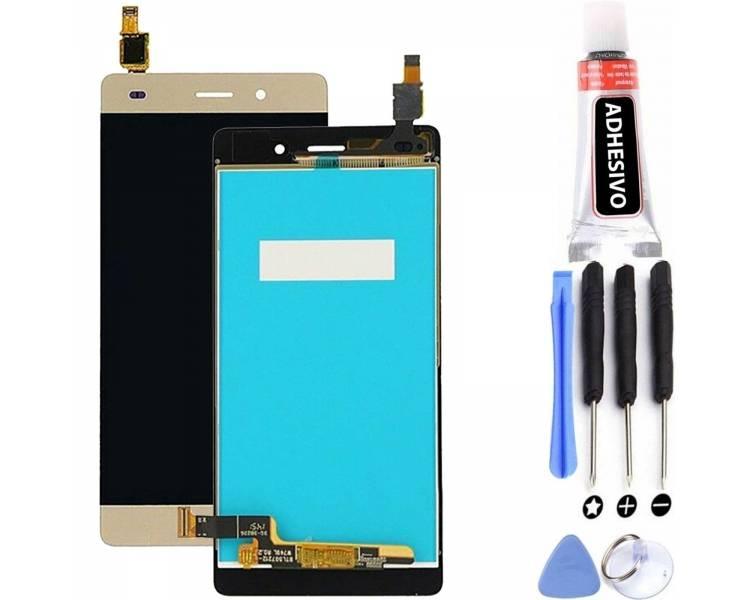 Pełny ekran dla Huawei Ascend P8 Lite - P8 Mini - Gold Gold Gold