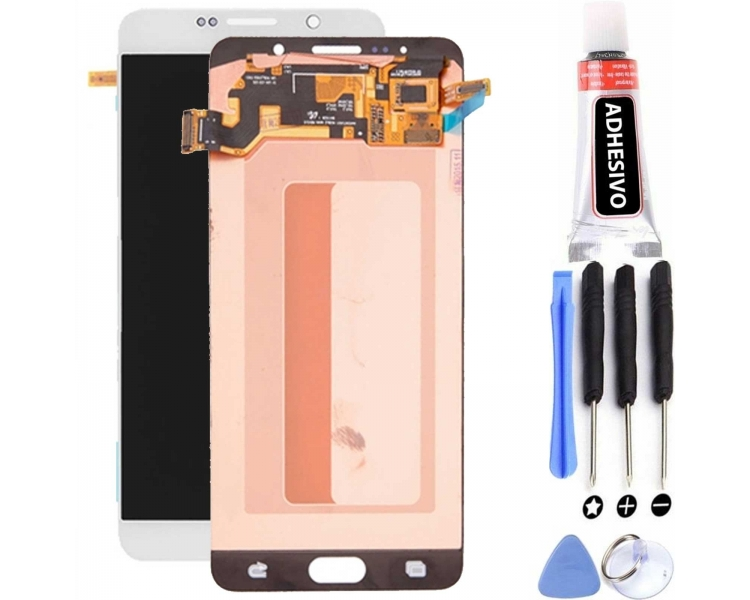Display For Samsung Galaxy Note 5, Color White, Original Amoled Samsung - 1
