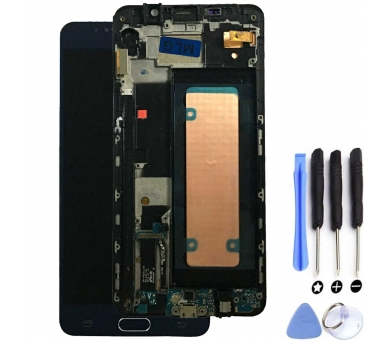 Origineel volledig scherm met frame voor Samsung Galaxy Note 5 N920F blauw Samsung - 1