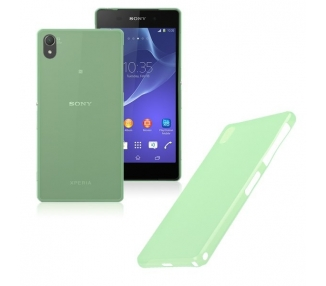 Sony Xperia Z2 - TPU Case - Color Green