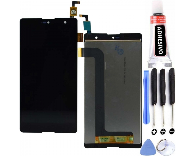 Display For Wiko Robby, Color Black