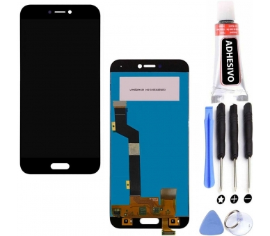 Display For Xiaomi Mi 5C, Color Black ARREGLATELO - 5