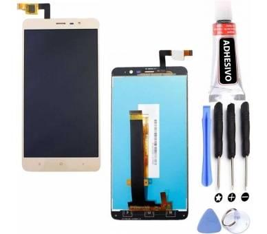 Display For Xiaomi Redmi Note 3 SE, Color Gold ARREGLATELO - 6