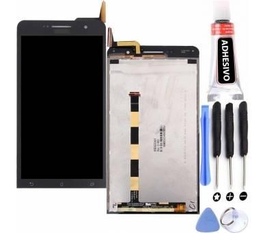 Volledig scherm voor Asus Zenfone 6 A600CG Zwart Zwart FIX IT - 10