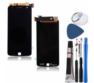 Pantalla Completa para Motorola Moto Z Play XT1635 Negro Negra ARREGLATELO - 9