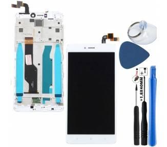 Pantalla Completa con Marco para Xiaomi Redmi Note 4X Blanco Blanca Xiaomi - 11
