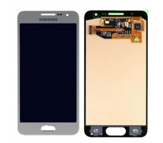 Pantalla Completa Original para Samsung Galaxy A3 2015 A300F A300FU Plata Samsung - 1
