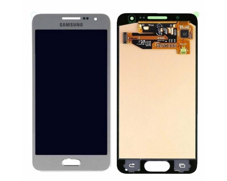 Origineel volledig scherm voor Samsung Galaxy A3 2015 A300F A300FU Zilver Samsung - 1