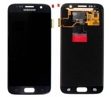Display For Samsung Galaxy S7, Color Blue, Original Amoled Samsung - 1