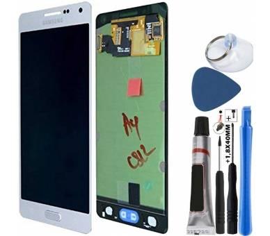 Oryginalny pełny ekran do Samsung Galaxy A5 A500 A500F Silver Samsung - 4