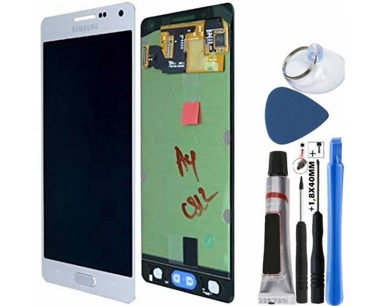 Pantalla Completa Original para Samsung Galaxy A5 A500 A500F Plata Samsung - 4
