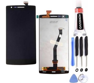 Pantalla Completa para - OnePlus One - One Plus One - Negro Negra