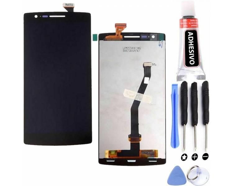 Volledig scherm voor - OnePlus One - One Plus One - Zwart Zwart FIX IT - 1