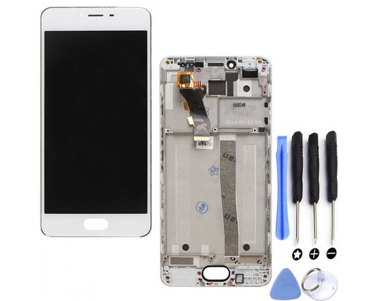Display For Meizu M3S, Color Gold, With Frame ARREGLATELO - 4