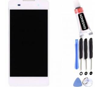 Pełny ekran dla Sony Xperia E5 F3313 F3311 Biały Biały