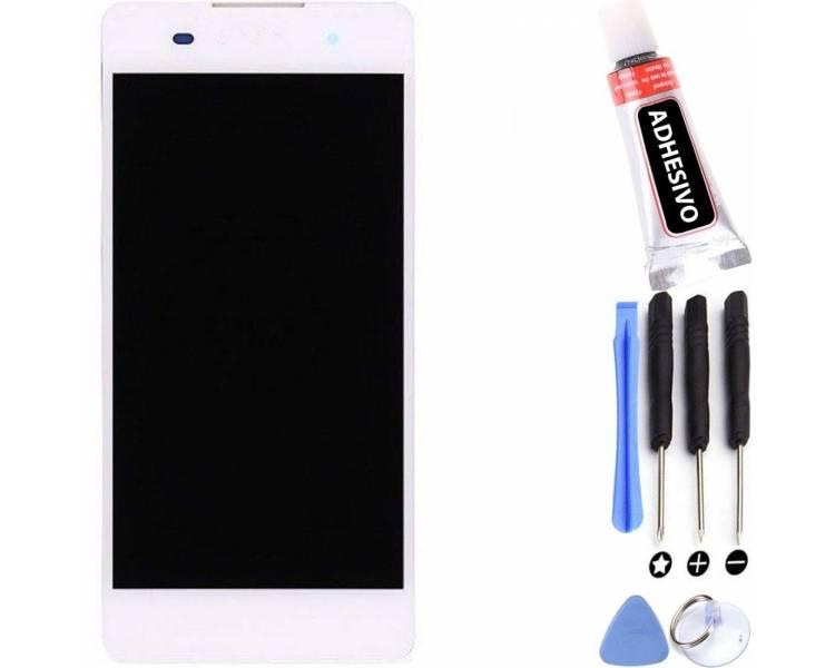 Display For Sony Xperia E5, Color White ARREGLATELO - 1