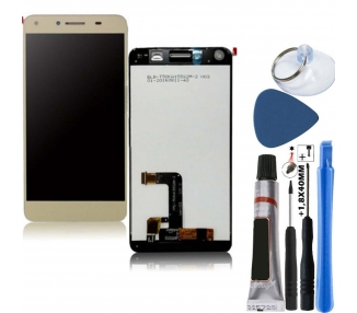 Pełny ekran dla Huawei Y5 2 II Gold Gold Gold FPC-T50KA155S2M-2