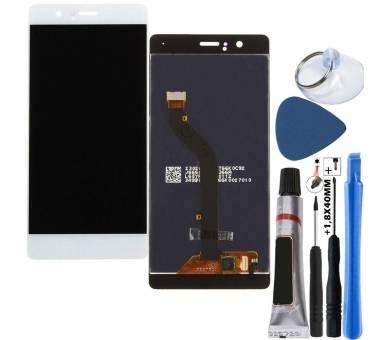 Pełny ekran dla Huawei P9 Lite L21 L31 L22 L23 L53 Biały Biały ARREGLATELO - 1