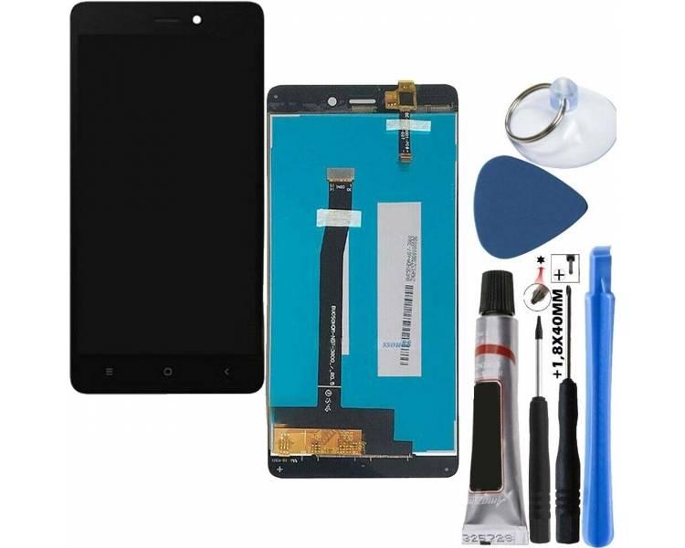 Pantalla Completa para Xiaomi Redmi 3 Negro Negra ARREGLATELO - 1