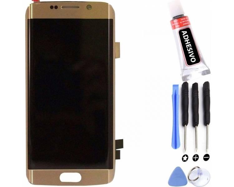 Volledig scherm voor Samsung Galaxy S6 Edge Plus G928F G928 Goud Goud Goud FIX IT - 1