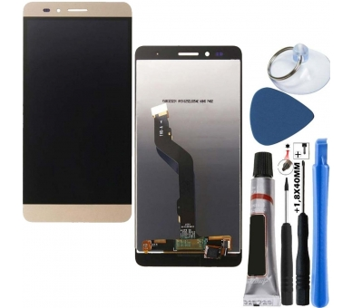 Display For Huawei Honor 5X, Color Gold ARREGLATELO - 1